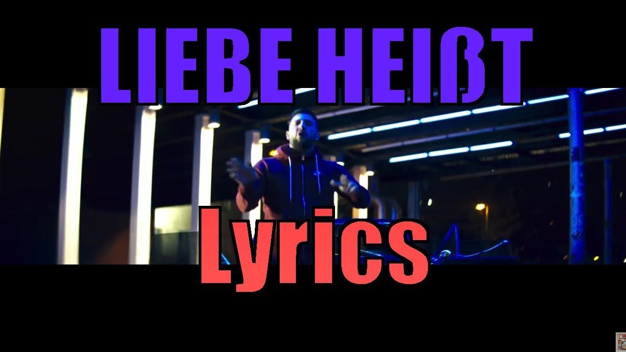 Mert Liebe Heisst Lyrics By Tiken Youtube
