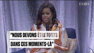 Incendie de Notre-Dame : l'émotion de Michelle Obama en visite à Paris