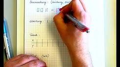 Gleichungen Knack die Box Darstellungsformen