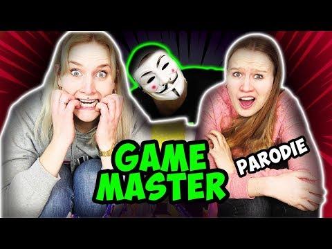 GAME MASTER BEI NINA & KATHI - Wer ist er & gibt es ihn wirklich? Gamemaster Challenge Parodie