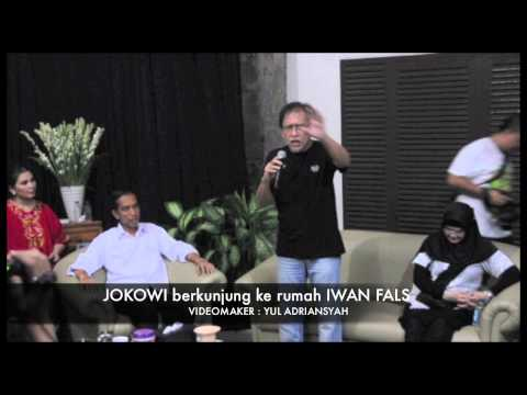 Jokowi Berkunjung Ke Rumah Iwan Fals