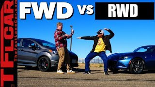 Gameshow: Is The New 2019 Mazda Miata Faster Than a Ford Fiesta ST? Ep.14