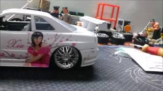 How to Make Simple GT Wing Diecast From Smartphone Card or Credit Card