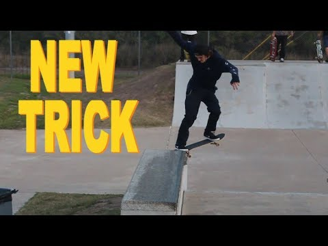 EASY NEW TRICK - Noseslide Big Spin