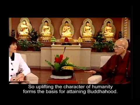 The vow underlying the Master's efforts in promoting the ideals of ... (GDD-935, Master Sheng-Yen)