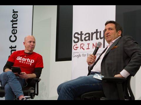 Daniel Gutenberg (VI Partners) at Startup Grind Zurich, w/ David Butler