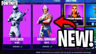 "*NEW* FREE ""GRILL SERGEANT"" SKIN LEAKED ... (Fortnite Battle Royale - NEW DURR BURGER SET LEAKED)"