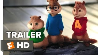 Alvin and the Chipmunks: The Road Chip TRAILER 1 (2015) - Bella Thorne, Kaley Cuoco Animation HD