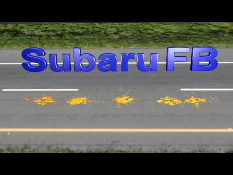 Фото к видео: Расход масла в двигателе Subaru FB