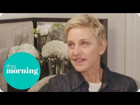 Ellen DeGeneres - Finding Dory Interview | This Morning