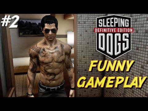 "FUNNY ""SLEEPING DOGS"" GAMEPLAY #2"