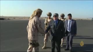 تحالف الشرعية باليمن ينفي اجتماع عسيري مع نجل صالح