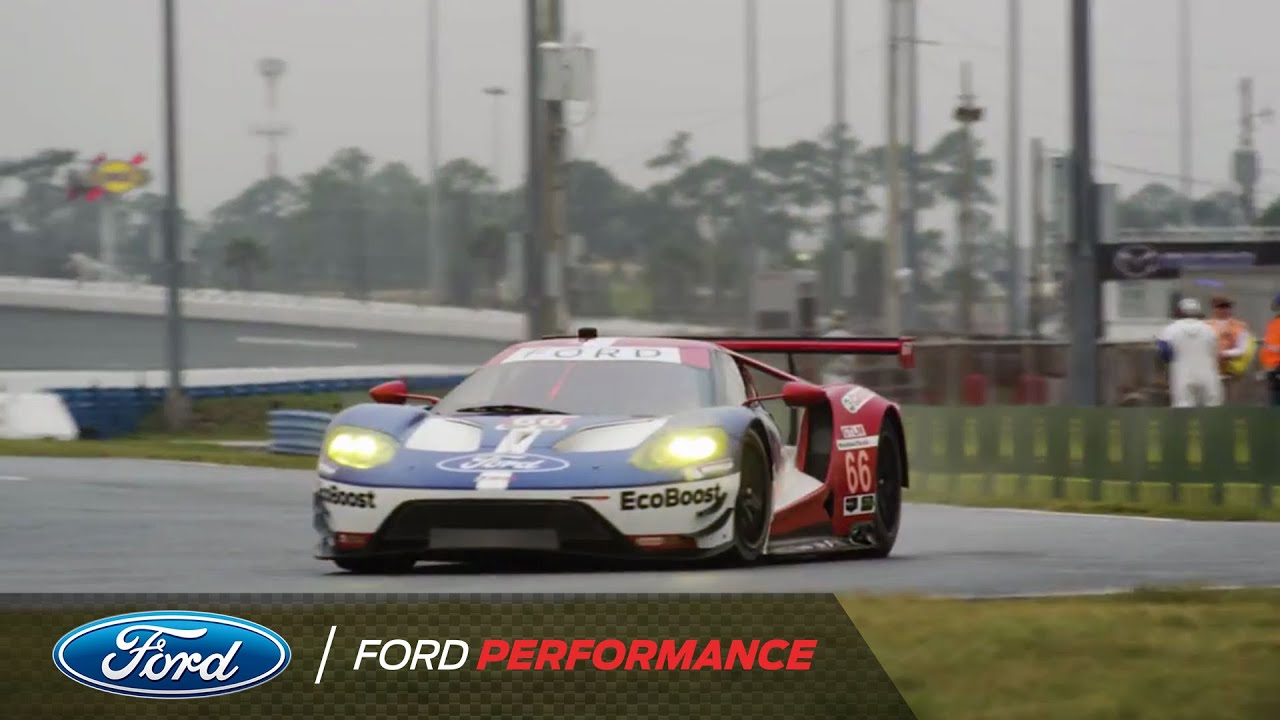 Ford Gt Qualifying Round Rolex  Ford Performance