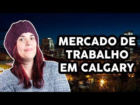 IMPRESSÕES SOBRE O MERCADO DE TRABALHO EM CALGARY - Crise, entry level, TI e +