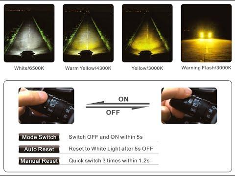 видео:  Boslla. Трех цветовые  LED лампы  в головной свет вашего авто.
