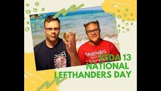 #LeftHandersDay National Lefthander's Day | VEDA Challenge Day 13