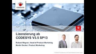 Lizenzierung ab CODESYS V3.5 SP13 (DE)