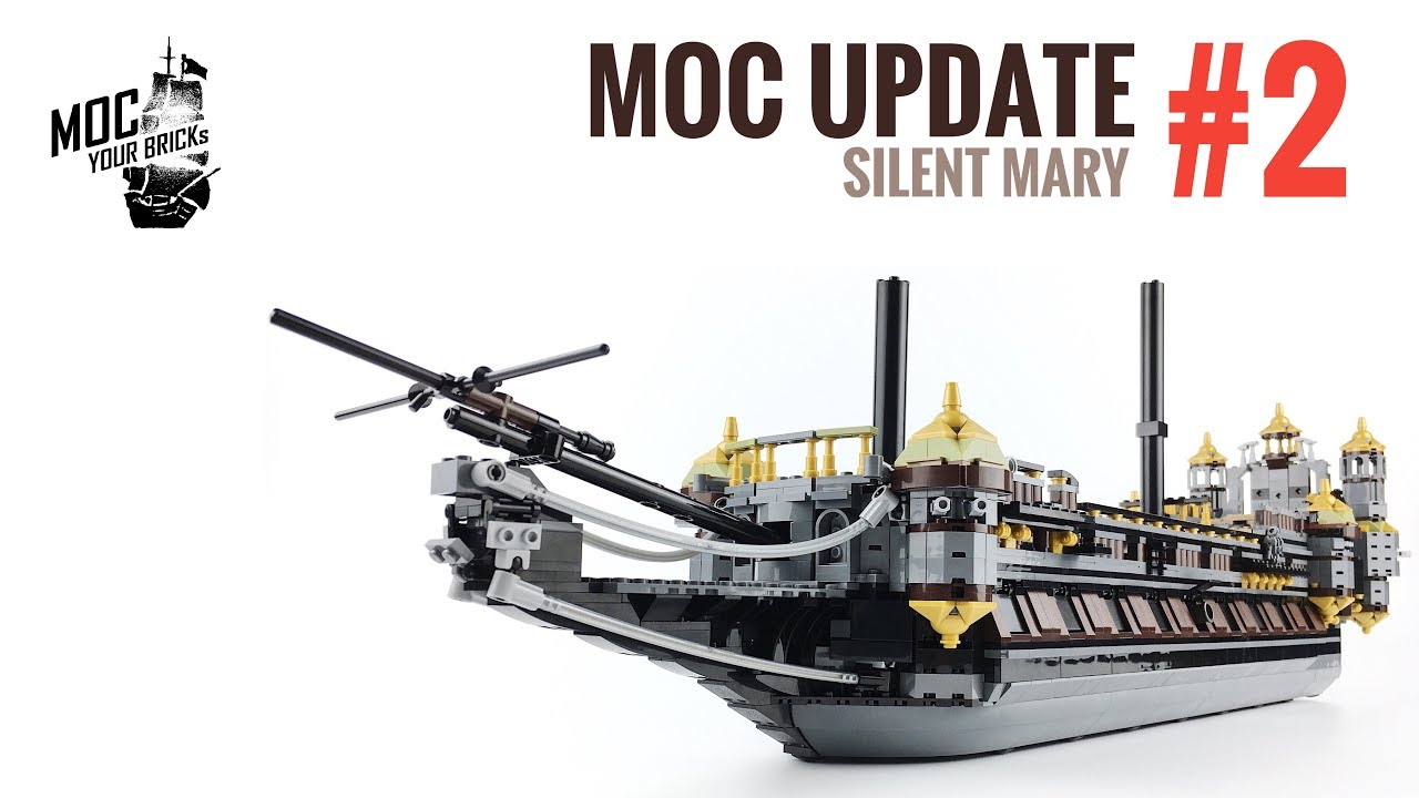 Lego Silent Mary MOC before ghost ship Update#2 - YouTube