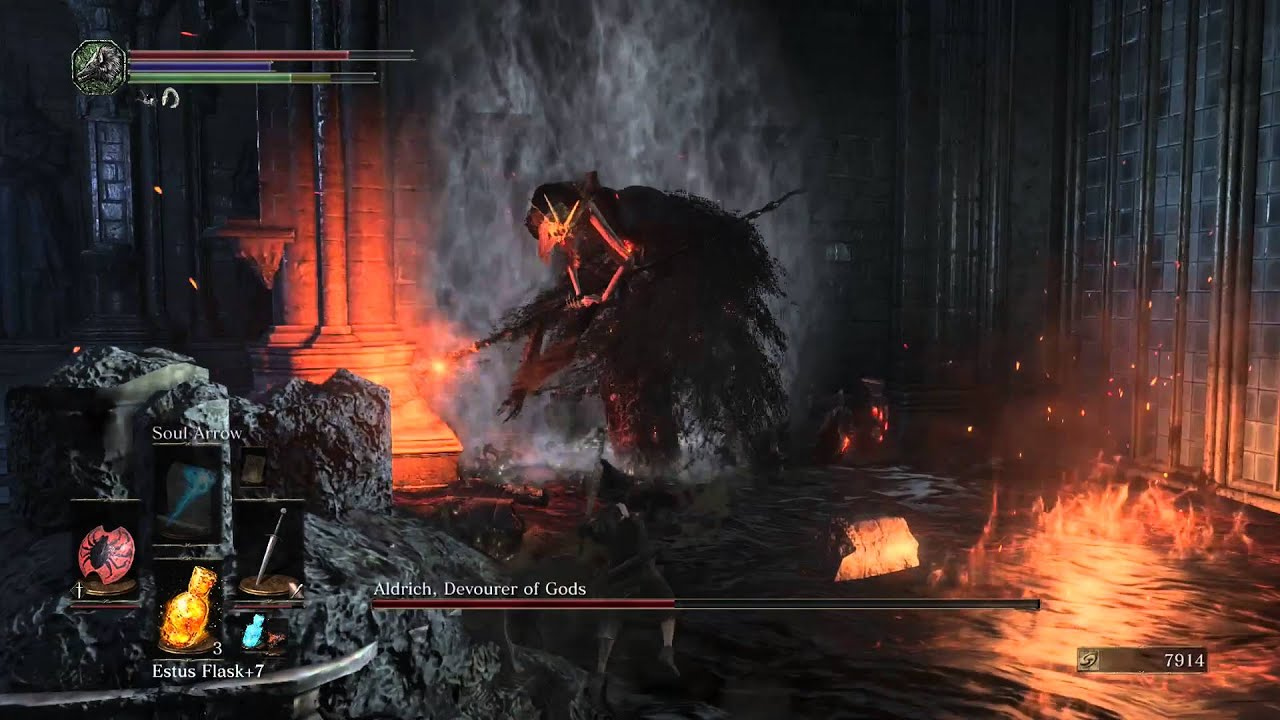 Dark Souls 3 21 9: Dark Souls III: Ninth Boss Walkthrough
