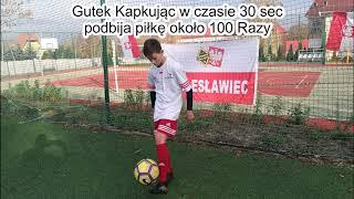 207 Podbić Piłką do Tenisa - Gutek w Akcji - Record Podbić 319