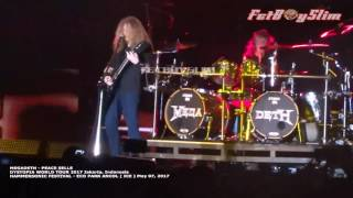 MEGADETH -  PEACE SELLS Live in Jakarta 2017