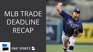 MLB Trade Deadline Recap: Chris Archer, Brian Dozier, Wilson Ramos, Kevin Gausman, & Jonathan Schoop