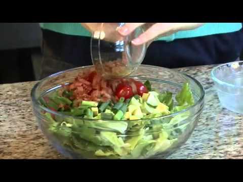 Shrimp, Avocado, Bacon Salad Recipe Video