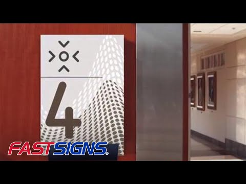Wayfinding Signs and Graphics from FASTSIGNS