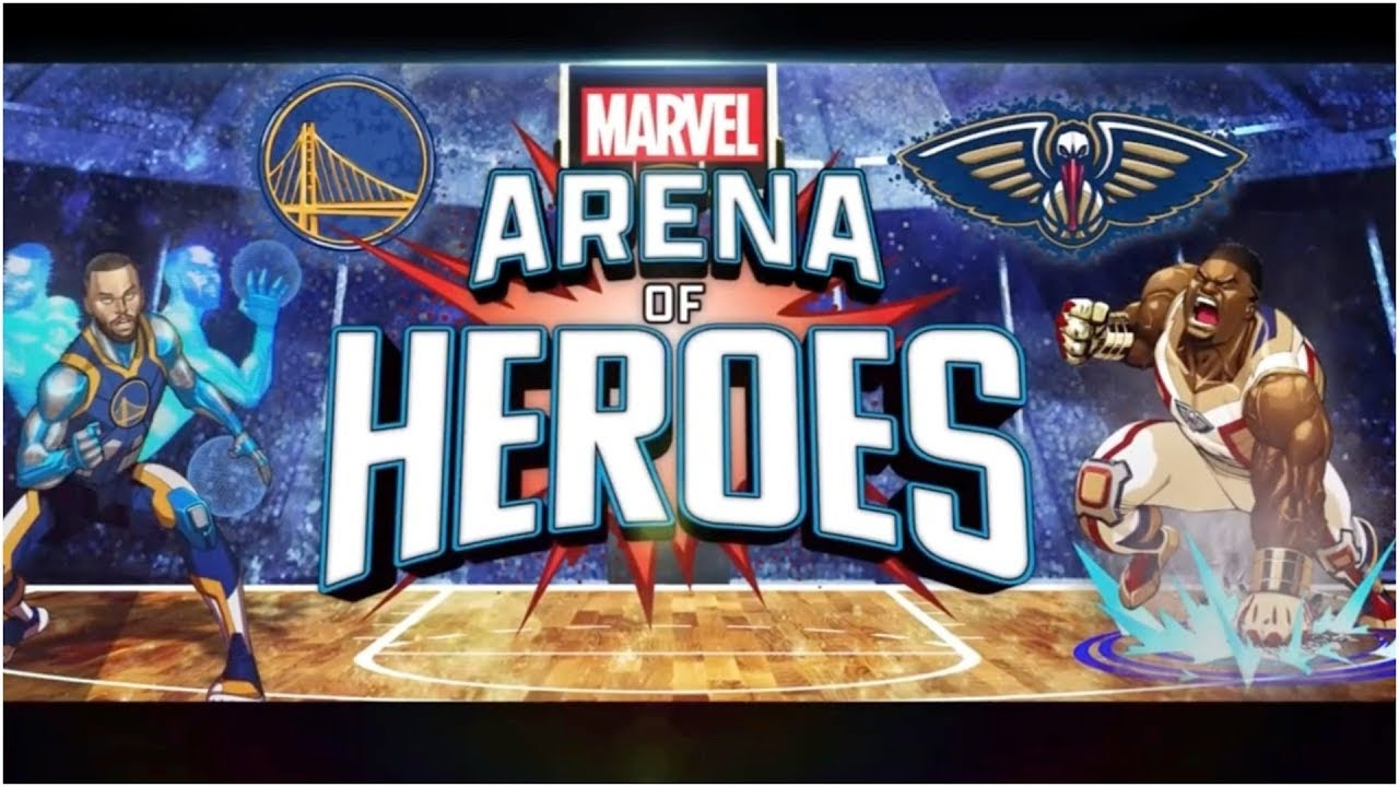 The NBA teams up with Marvel's Arena of Heroes for Warriors vs. Pelicans | NBA on ESPN