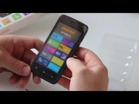Digma HIT Q400 3G / Распаковка и первый взгляд