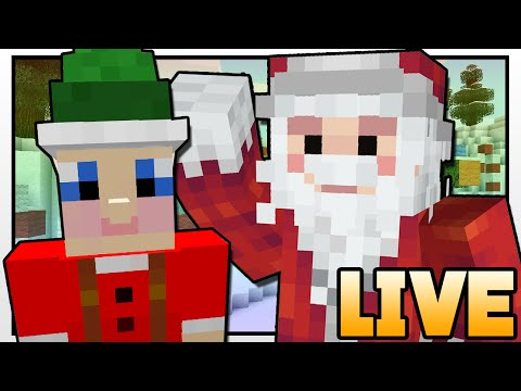 Minecraft | SANTA'S GOLDEN TICKET!! | Custom Mod Adventure LIVE