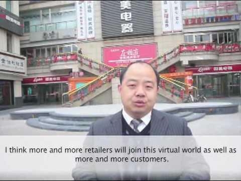 SIMZON - virtual world, real shopping