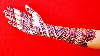 Full Hand Mehndi Design - Latest Mehendi designs 2019 - Shimmi