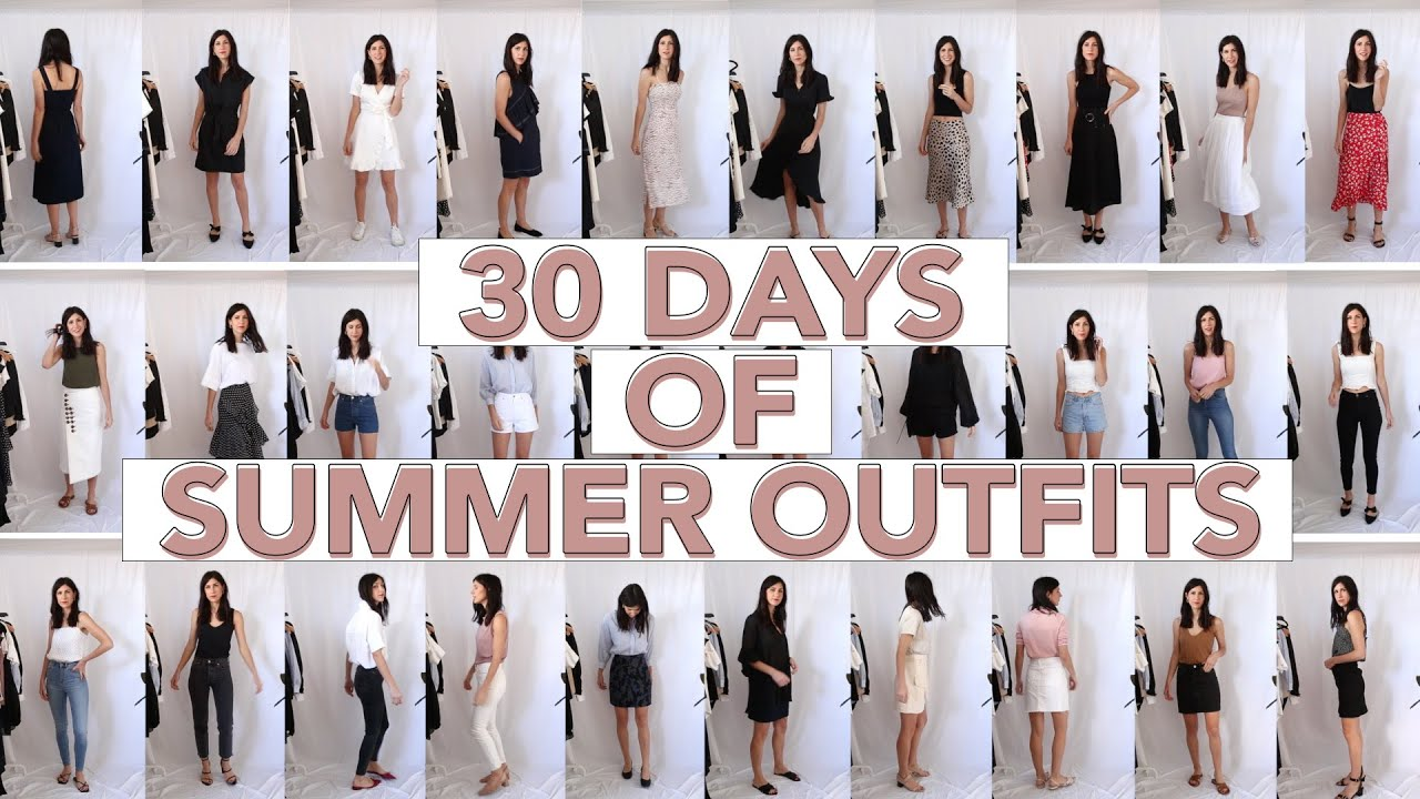 30 DAYS OF OUTFITS FOR AUGUST (Summer Edition) - Minimal Style   Mademoiselle 2