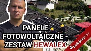 """Panele fotowoltaiczne - zestaw Hewalex - krok po kroku. + Program """"Mój prąd"""""""