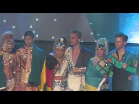 PRIZE GIVING CEREMONY - DUOS MIXED - IDO WORLD DISCO DANCE CHAMPIONSHIPS 2017