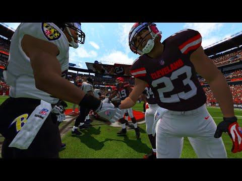 Madden NFL 17 Week 2 Baltimore Ravens vs Cleveland Browns