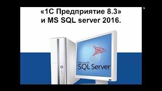 видео sql сервер для 1с