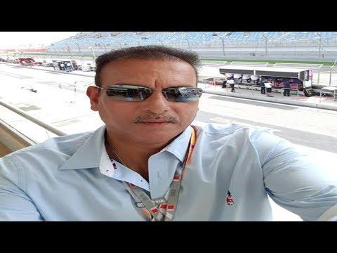 Watch: OMG! Ravi Shastri in Formula 1?