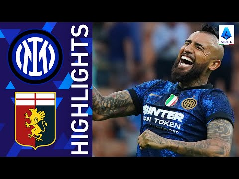 Inter 4-0 Genoa   Inter kick off title defence with emphatic win!   Serie A 2021/22