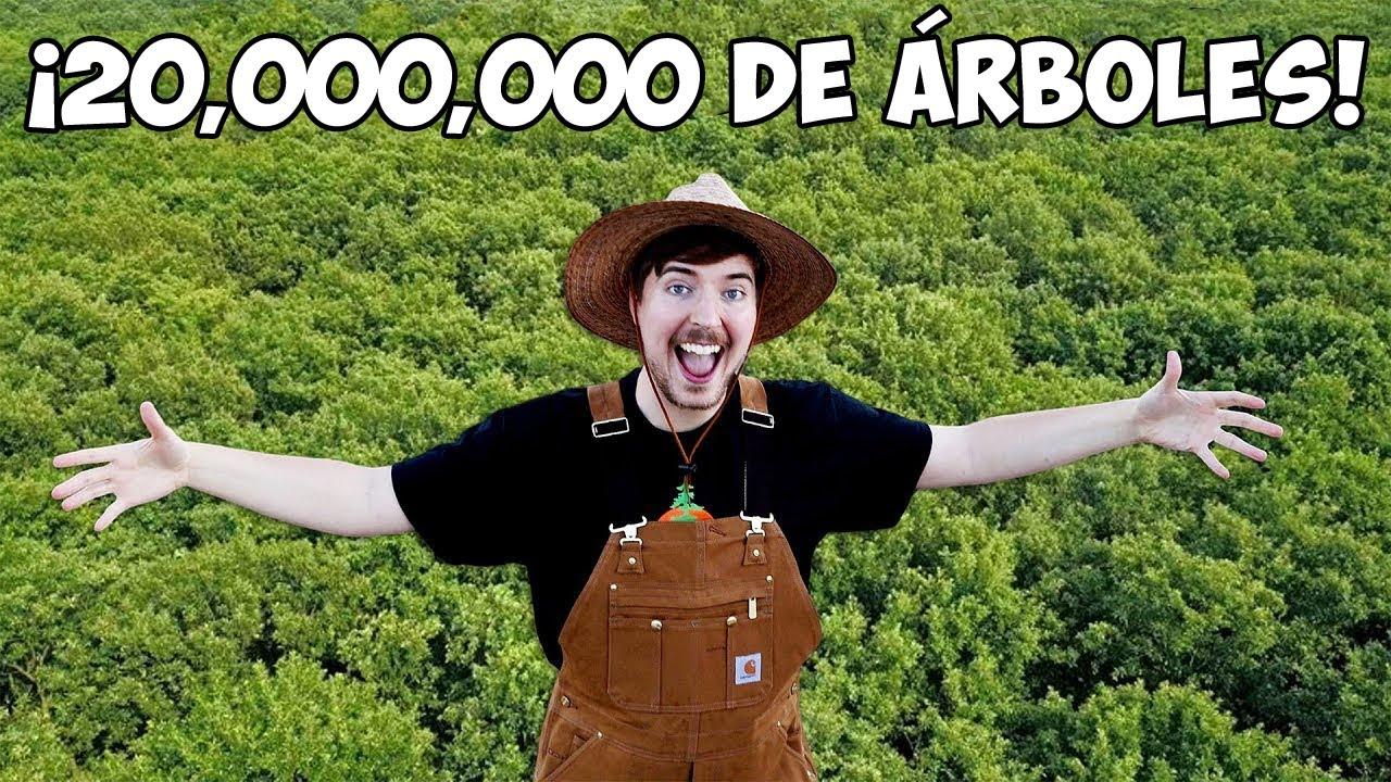 Plantamos 20,000,000 de Árboles | Mi Proyecto Más Grande