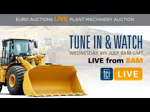 The Construction Index Live - DAY 1 At Euro Auctions Leeds