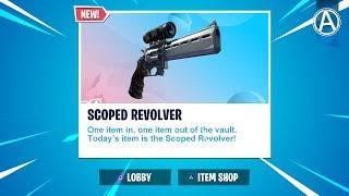 NEW LOADOUT SWAP LTM! Scoped Revolver UNVAULTED // Use Code: byArteer (Fortnite Battle Royale LIVE)