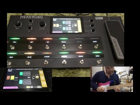 Headrush Pedalboard : Lead Sound Demo by Peter Sow