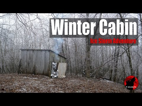 The Winter Cabin Ice Storm - Multiday Adventure