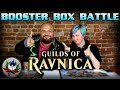 MTG - Guilds of Ravnica Booster Box Opening Battle! ROUND ONE! FIGHT!