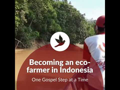 Becoming an eco-farmer in Indonesia || One Gospel Step at a time 🕊️