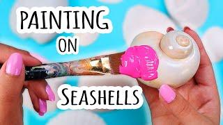 Painting on Seashells (AGAIN)