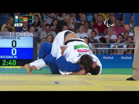 Judo | GER X VEN | Men's -73 kg | Quarter-final | Rio 2016 Paralympic Games