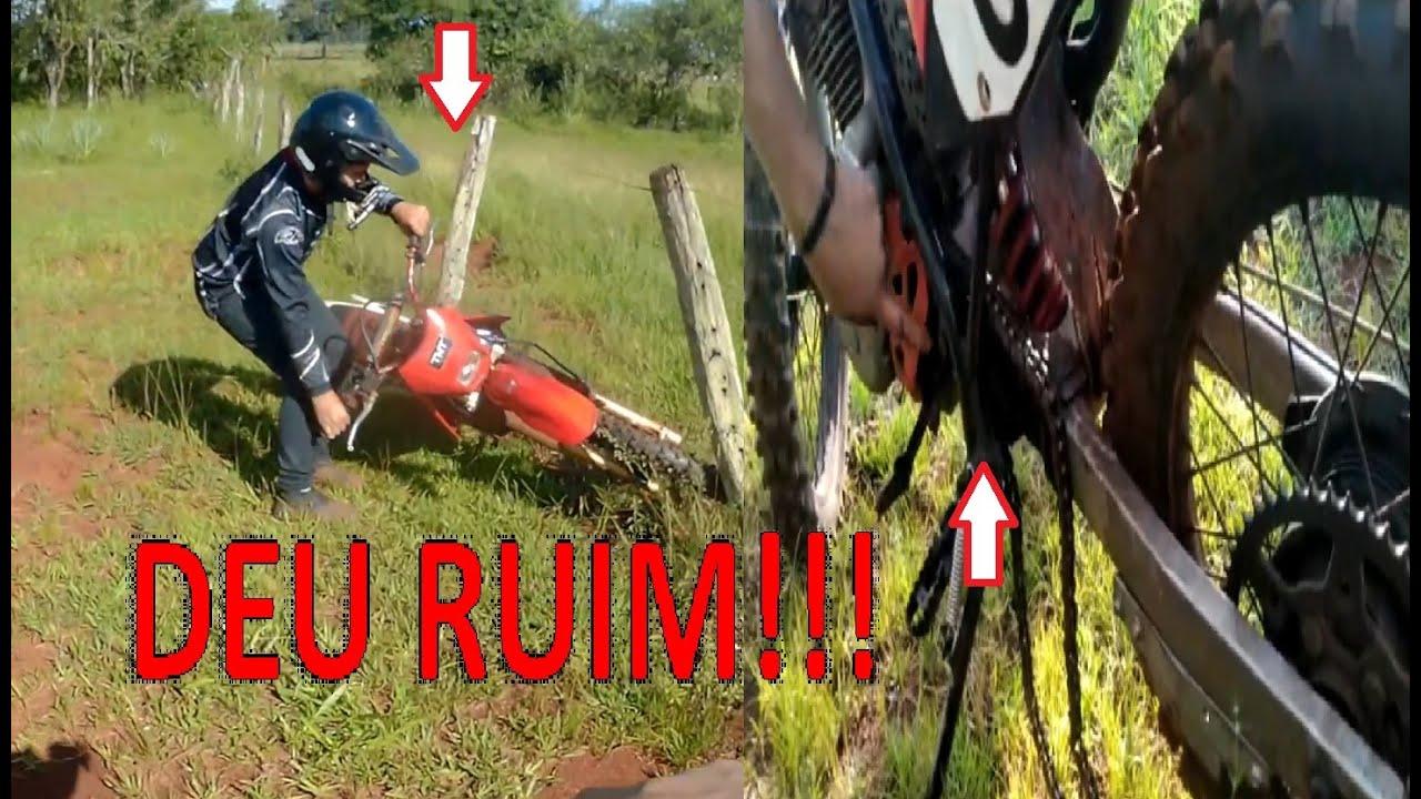 Rampei, bati na cerca 220v X Caiu corrente do Róia, DEU RUIM!